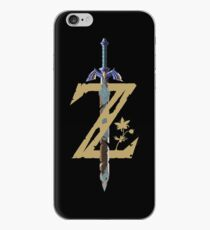 Vinilo o funda para iPhone Breath Of The Wild Logotipo