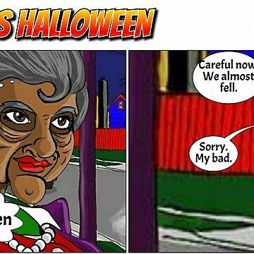 This is Halloween Comic by ChuckHalloran
