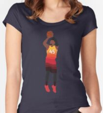 Donovan Mitchell Women s Fitted Scoop T-Shirt c2f0fcb8b