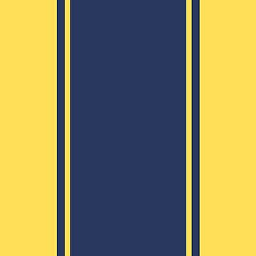 Yellow and Blue | Pattern Art by CarlosV
