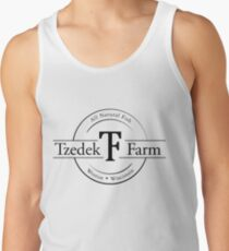 Tzedek Farm Weston WI - Black Tank Top