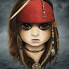 Captain Jack Sparrow (BITTY BADDIES) by Jody  Parmann