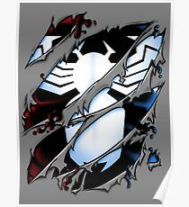 Slashed Symbiote Poster