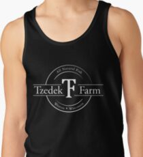 Tzedek Farm - Weston WI - White Tank Top