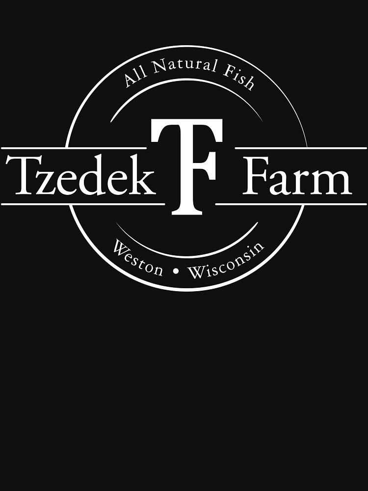 Tzedek Farm - Weston WI - White by bigfatdesigns