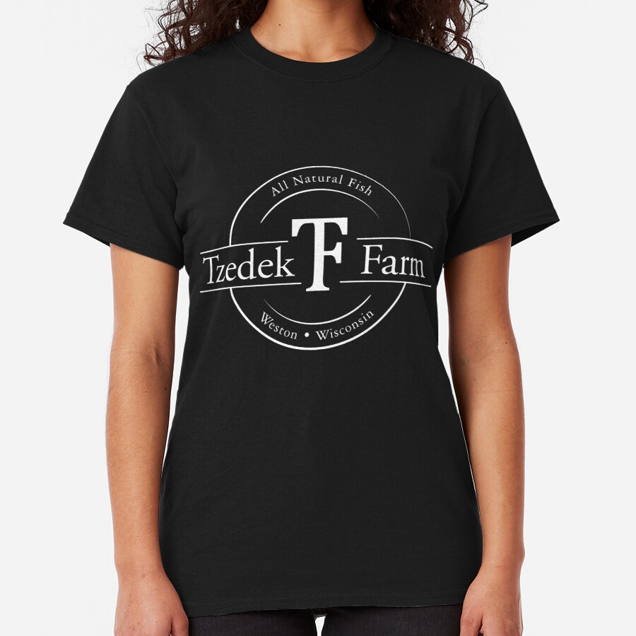 Tzedek Farm - Weston WI - White Classic T-Shirt