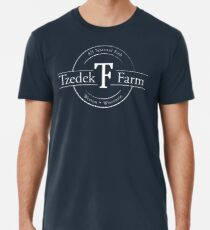 Tzedek Farm - Weston WI - White Premium T-Shirt