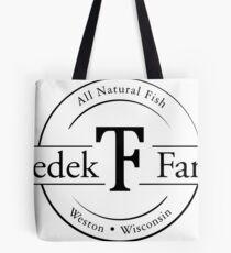 Tzedek Farm Weston WI - Black Tote Bag