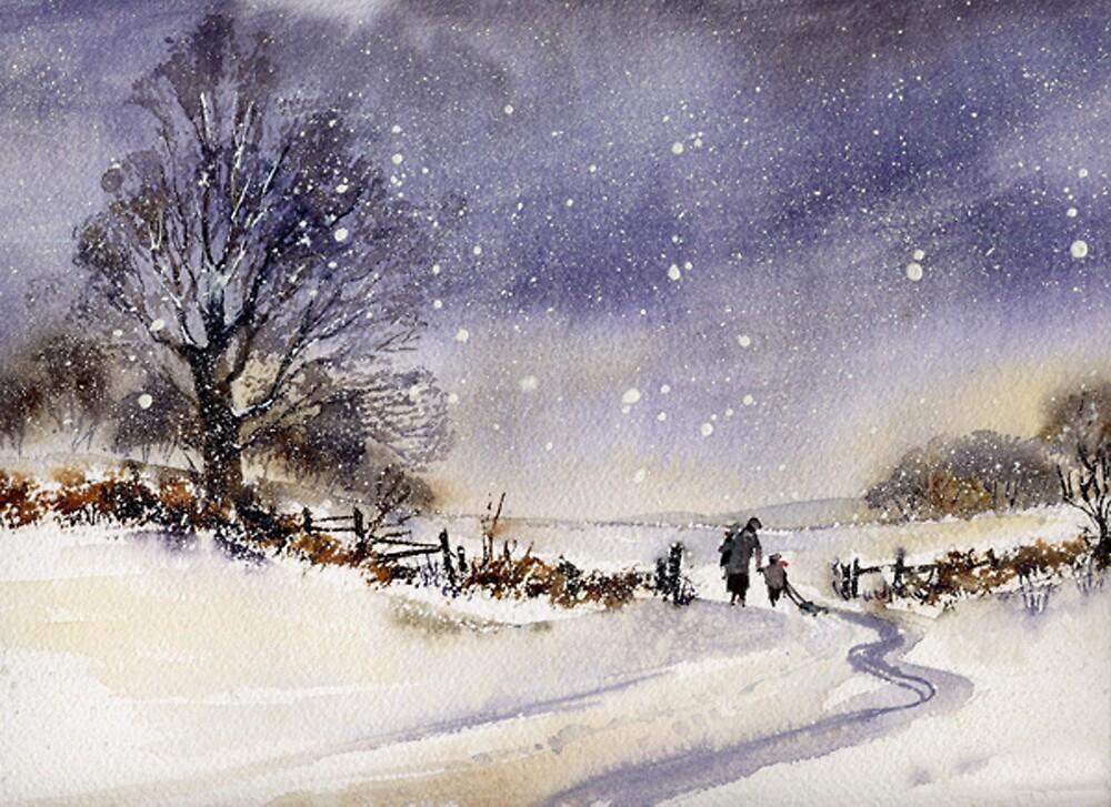 Does Santa come tonight? by artbyrachel