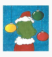 Como El Grinch Robo La Navidad Dibujo Laminas Fotograficas Redbubble