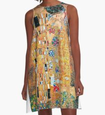 coole Kunst A-Linien Kleid
