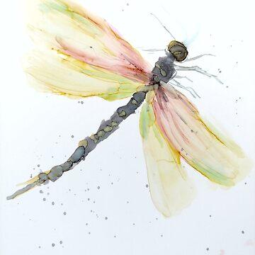 Dragonfly Summer by GlennArt