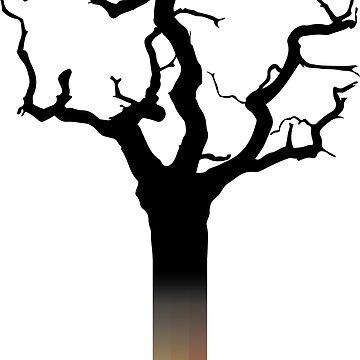 Pencil tree by Melcu
