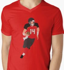 Ryan Fitzpatrick Men s V-Neck T-Shirt 8d8fa496a