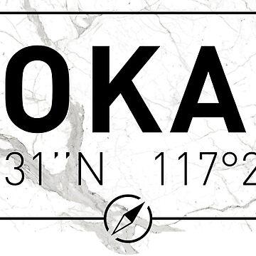 The longitude and latitude of Spokane, WA by efomylod