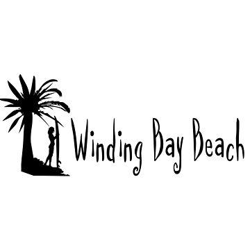 Winding Bay Bahamas by RBBeachDesigns
