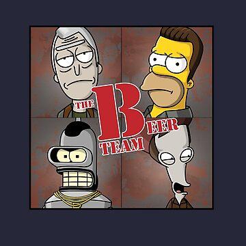 The B-team / The Beer team by Caldofran