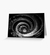 Vatican Museum Staircase Greeting Card