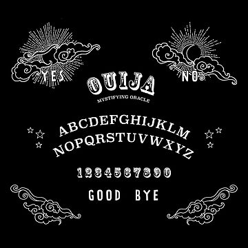 Ouija Board Graphic by JeanRim