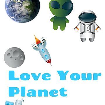Love Your Planet  by fonzyhappydays