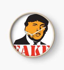 FAKE NEWS - PRESIDENT TRUMP Clock