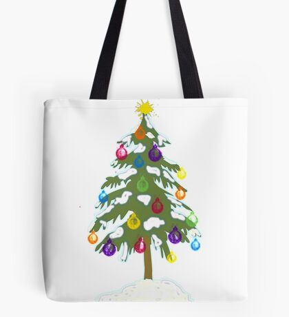 Christmas Tree 2018 Tote Bag