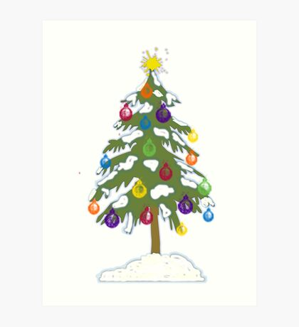 Christmas Tree 2018 Art Print