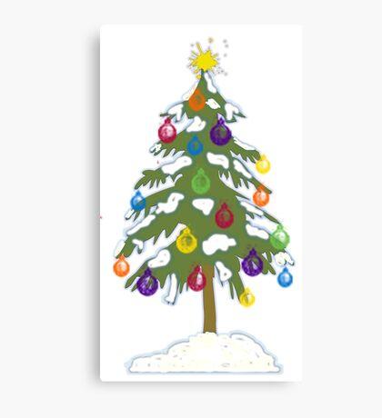 Christmas Tree 2018 Canvas Print