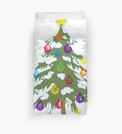 Christmas Tree 2018 Duvet Cover