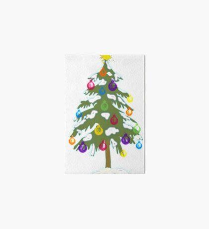 Christmas Tree 2018 Art Board
