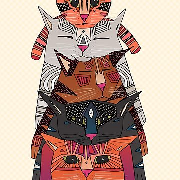 PILE OF CATS by scrummy