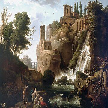 Tivoli Landscapes-Claude Joseph Vernet by LexBauer
