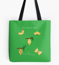 Life cycle of pasta Tote Bag