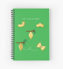 Life cycle of pasta Spiral Notebook