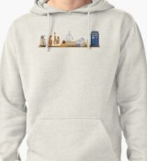 Doctor Who You Are Here Style Design Pullover Hoodie