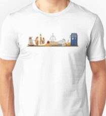 Doctor Who You Are Here Style Design Unisex T-Shirt