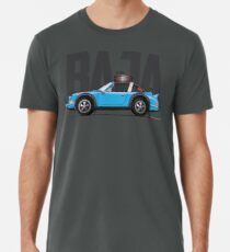 Baja-Light Blue Men's Premium T-Shirt