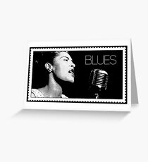 ICONIC - BILLIE HOLIDAY - Blues Greeting Card