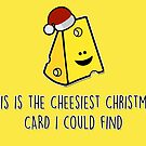 This is the cheesiest Christmas card I could find by fashprints