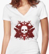 Rorstark Test Women's Fitted V-Neck T-Shirt