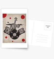 Anthropomorphic N°24 Postcards