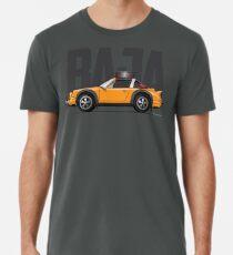 Baja-Orange Men's Premium T-Shirt