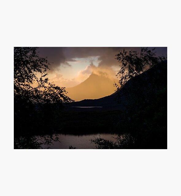 Stac Pollaidh and Loch Cul Dromannan by derekbeattie