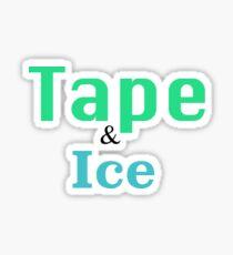 Eis und Klebeband Sticker