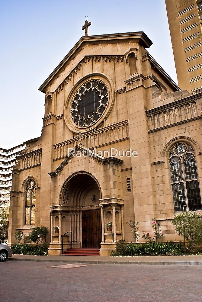 Holy Trinity Catholic Church by RatManDude