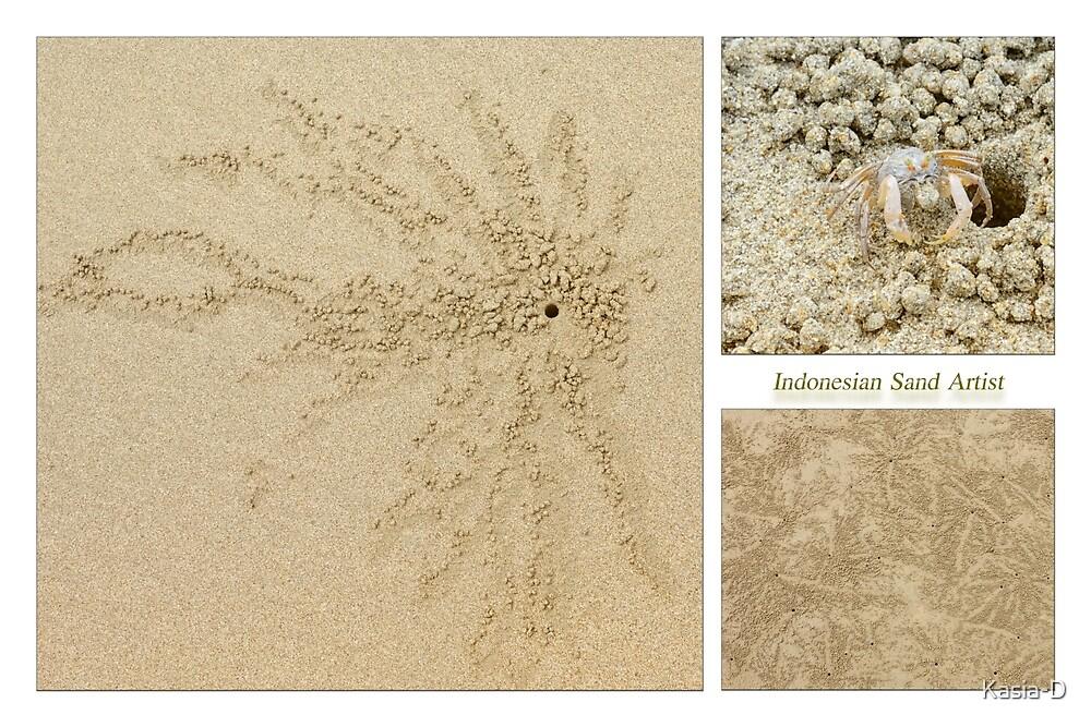 The Sand Bubbler by Kasia-D