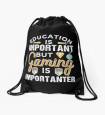 Gaming is Importanter Drawstring Bag