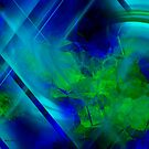 Untitled Abstract- 14-  Art + Products Design  by haya1812