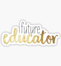 Pegatina futuro educador