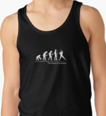 The theory of evolution(baseball) Men's Tank Top